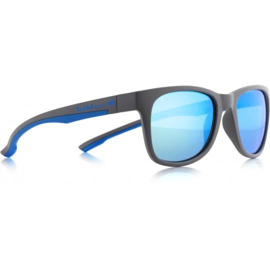 sluneční brýle RED BULL SPECT Sun glasses, INDY-007P, dark grey, blue, green with green revo POL, 51-20-145