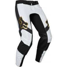 Pánské MX kalhoty Fox Flexair Mirer Pant White/Black