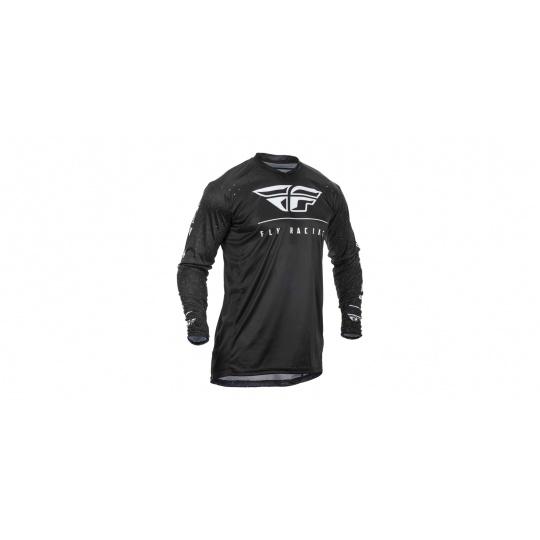 dres LITE 2020, FLY RACING (černá/bílá)