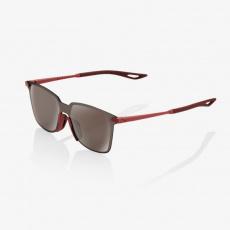 LEGERE UltraCarbon Square - Soft Tact Crimson - HiPER Silver Mirror Lens