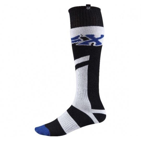 Pánské MX ponožky Fox Racing Fri Thin Anthem Sock Blue