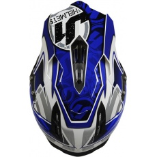 Kšilt JUST1 J12 MISTER X modrý