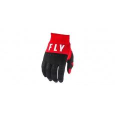 rukavice F-16 2020, FLY RACING (červená/černá/bílá)