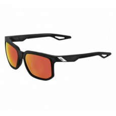 Centric - Soft Tact Crystal Black - HiPER Red Multilayer Mirror Lens