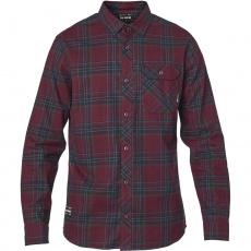 Pánská košile Fox Gamut tretch Flannel Cranberry