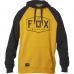 Pánská mikina Fox Crest Pullover Fleece Mustard