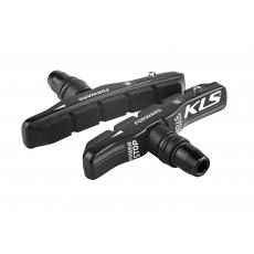KELLYS Brzdové gumičky KLS POWERSTOP V-01 cartridge (pár)