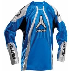 Motokrosový dres ALIAS MX A1 modrý