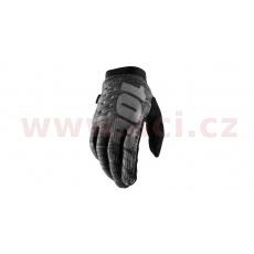 rukavice BRISKER, 100% (šedá)