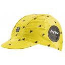 Cyklo čepice Northwave Cap Floreal Line Yellow