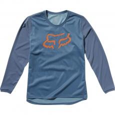 Dětský dres Fox Yth Ranger Ls Jersey Blue Steel