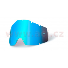 plexi Racecraft/Accuri/Strata, 100% (modré chrom, Anti-fog) *