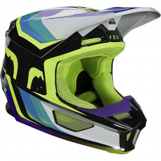 Pánská přilba Fox V1 Tro Helmet, Ece Aqua