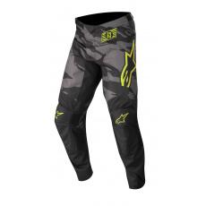kalhoty RACER TACTICAL 2022, ALPINESTARS, dětské (černá/šedá maskáčová/žlutá fluo)