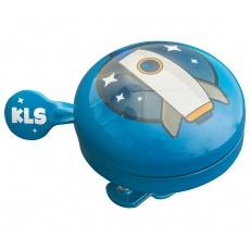 KELLYS Cyklistický Zvonek Bell 60 Kids Blue