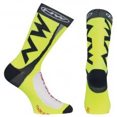 Pánské ponožky Northwave Extreme Tech Plus ocks Yellow Fluo