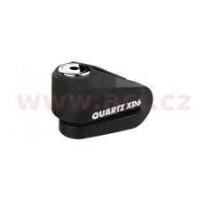 zámek kotoučové brzdy Quartz XD6, OXFORD (černý, průměr čepu 6 mm)