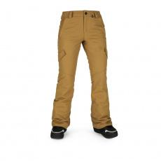 Dámské kalhoty Volcom Bridger Ins Pant Burnt Khaki