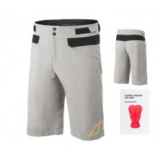 Alpinestars Drop 4.0 Shorts Green Steel - s cyklovložkou