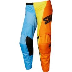 Dětské MX kalhoty Shift Whit3 Tarmac Pant Orange/blue