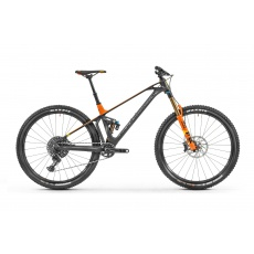 horské kolo MONDRAKER FOXY CARBON RR 29 SE, black phantom/orange, 2019 - vel. M