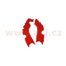gumové protektory rámu Honda, VIBRAM (sada, červená)