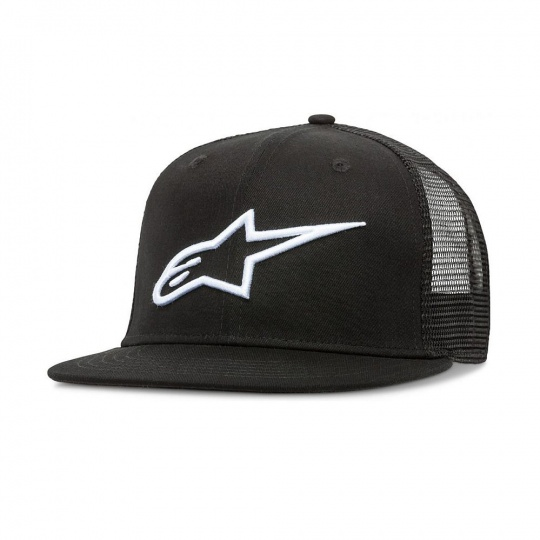 Alpinestars Corp Trucker hat kšiltovka Black/White