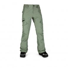 Dámské kalhoty Volcom Aston Gore-Tex Pant Dusty Green