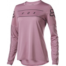 Dámský dres Fox Womens Flexair Ls Fine Line Jersey Purple
