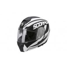 Moto přilba SCORPION EXO-3000 AIR SERENITY černá matná/bílá lesklá