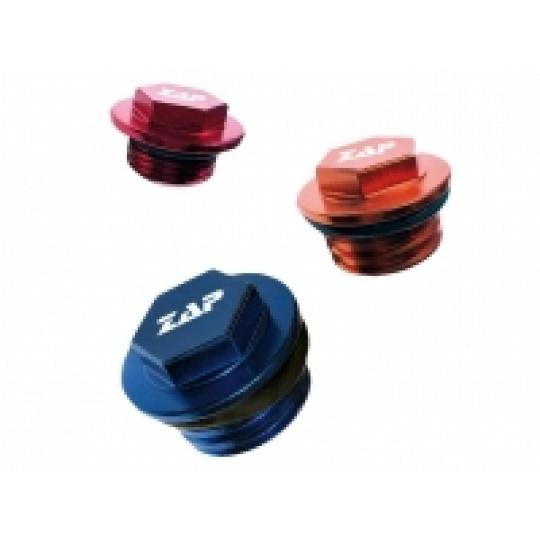 olejová zátka CR,CRF 450,KX,YZ,YZF  červená