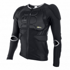 Chráničové tričko O´Neal BP dlouhý rukáv černá