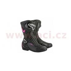 boty STELLA S-MX 6, ALPINESTARS, dámské (černé/fialové/bílé)