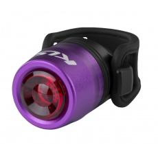KELLYS Osvětlení zadní dobíjecí IO USB Rear, purple