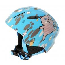 helma BLIZZARD Magnum ski helmet junior, blue cat shiny