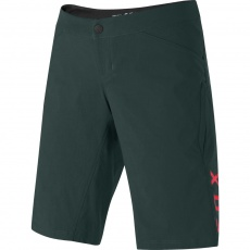 Dámské cyklo šortky Fox Wmns Ranger Short Dark Green