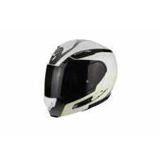 Moto přilba SCORPION EXO-3000 AIR STROLL pearl bílo/černo/neonově žlutá