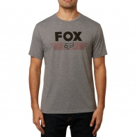 Pánské triko Fox Aviator Ss Tech Tee Heather Graphite