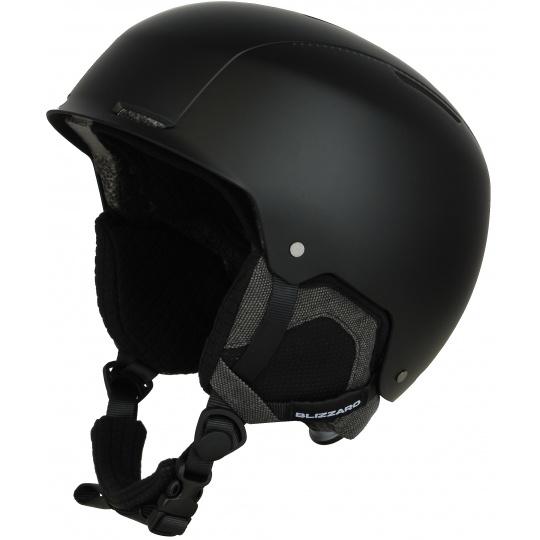 helma BLIZZARD Guide ski helmet, black matt/grey matt