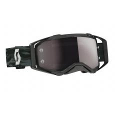 brýle PROSPECT, SCOTT - USA (černá/ šedé/stříbrné chrom plexi)