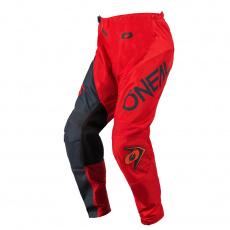 Kalhoty O´Neal Element RACEWEAR červená/šedá