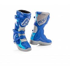 ACERBIS dětské boty X-TEAM KIDmodrá