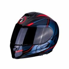 Moto přilba SCORPION EXO-3000 AIR CREED černo/červená