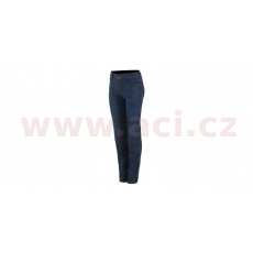 kalhoty DAISY 2 DENIM, ALPINESTARS, dámské (tmavá modrá)