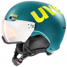 helma UVEX HLMT 500 visor, deep emerald mat (S566213600*)