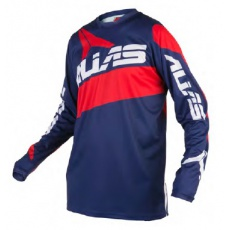 Motokrosový dres ALIAS MX A2 navy/červený 2160-348