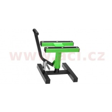 stojan MX, Q-TECH (černá matná/zelená neon)