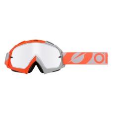 Brýle O´Neal B-10 TWOFACE oranžová/šedá mirror silver