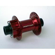RAPTOR Firejet MTB 20 mm Disc 32 děr, červený přední náboj