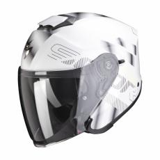 Moto přilba SCORPION EXO-S1 GRAVITY perleťově bílo/stříbrná